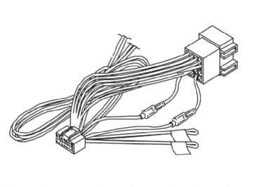 Kenwood DNN9150DAB DNN-9150DAB DNN 9150DAB Power Loom Wiring Harness Lead Cord ISO